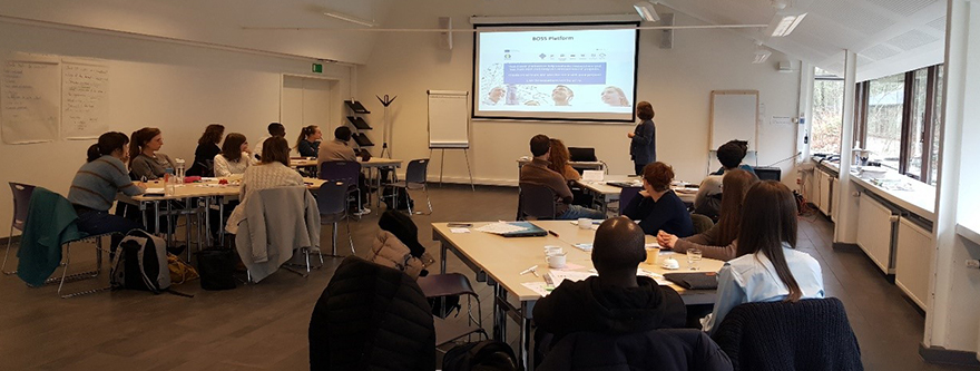 BOSS presented to the PhD students of the University of Liège